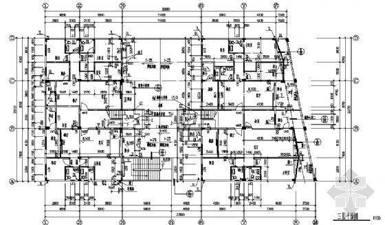 某不规则住宅建筑施工图-3