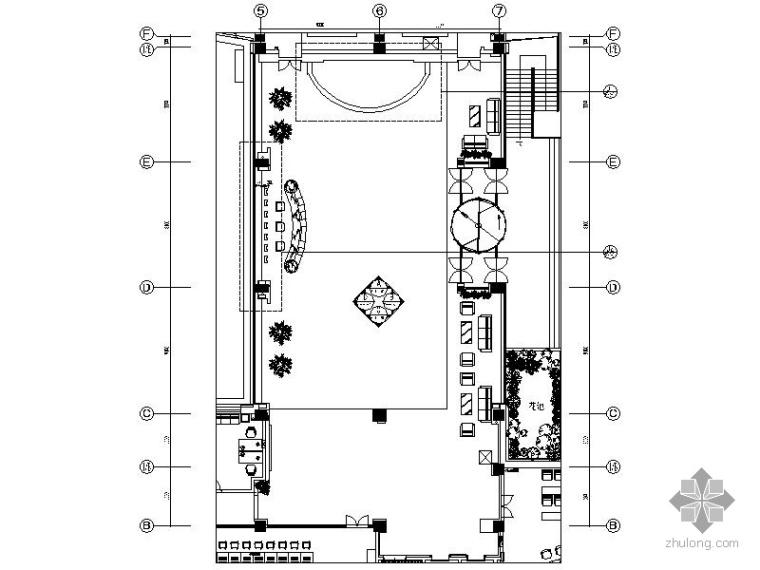 综合楼大堂装修施工图_1