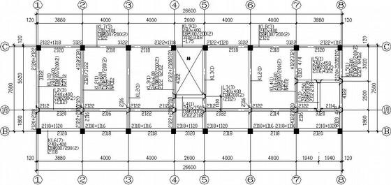 三层框架村委会综合楼结构施工图(平法表示)