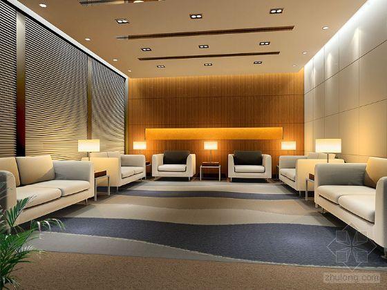 会议室3D模型及效果图