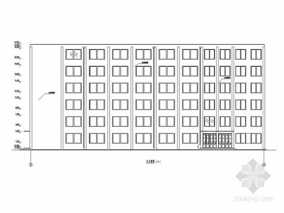 [学士]六层框架结构法律学院教学楼毕业设计(建筑图 结构图 计算书)