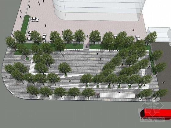 [深圳]道路两侧公共空间绿地景观规划设计方案