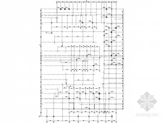 商场底层框架砌体结构加固施工图