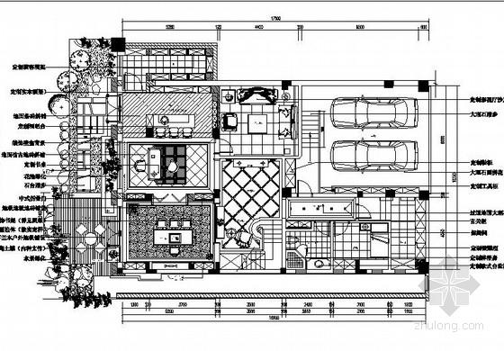 [昆山]欧式三层别墅样板房施工图