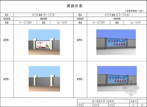 [湖南]房建及市政施工围挡指导图集(58页)
