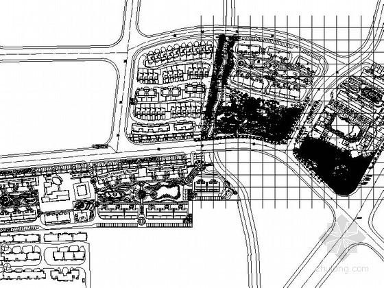 [福州]某居住区景观工程施工图