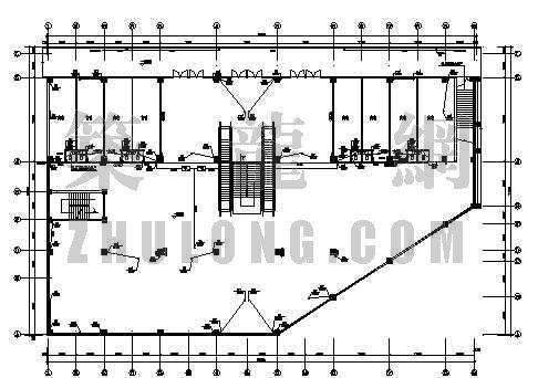 云南某集贸市场一商住楼给排水设计图