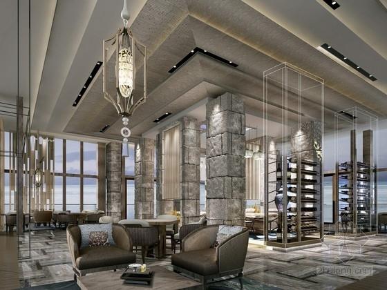 [庐山]湖光山色国际高档温泉度假村酒店设计方案