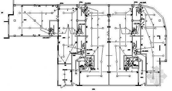 十六层二类高层住宅全套电气施工图纸