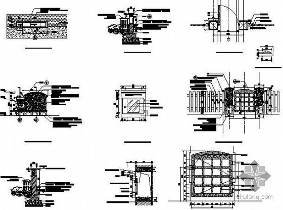 [长春]别墅景观施工图全套-2