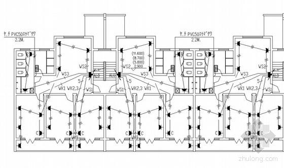 南京某单身宿舍楼电气施工图