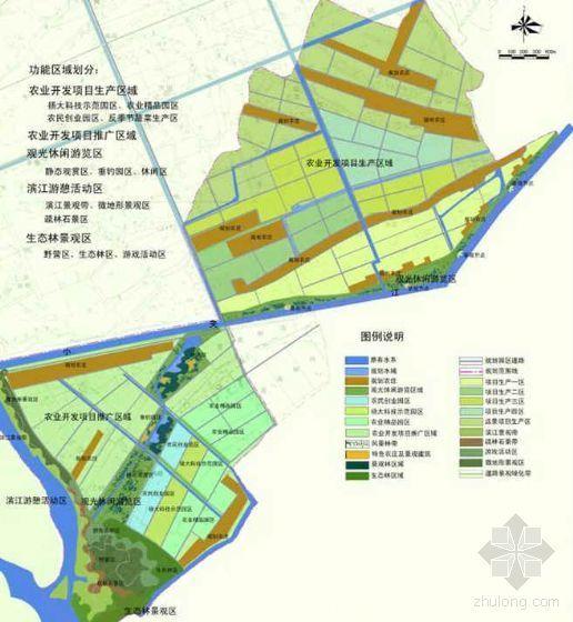 江苏扬州农业园区景观设计方案