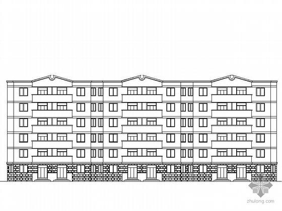 [肥东]某六层住宅楼建筑施工图