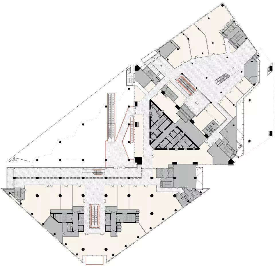 重新连结城市生活-上海世茂广场改造,上海/Kokaistudios_22