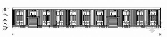 某轻钢结构厂房建筑结构设计图纸