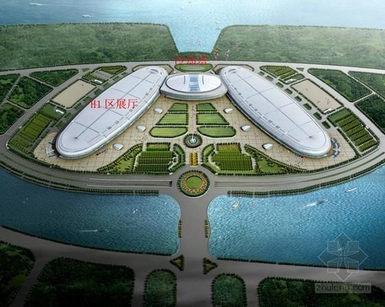 [福建]大型国际会展中心展厅钢结构施工方案(钢管桁架)