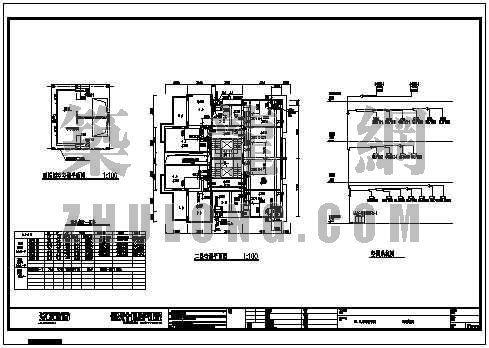 全套别墅中央空调通风施工图
