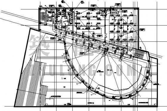 上海某大学博物馆采暖、空调设计图