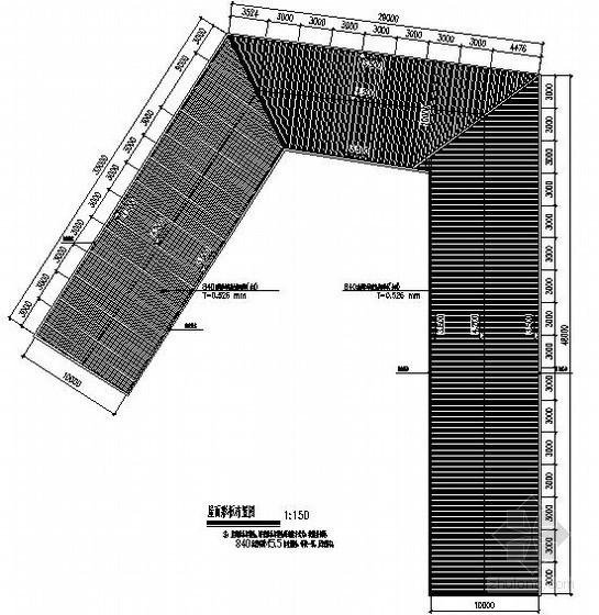 停车棚钢结构施工图