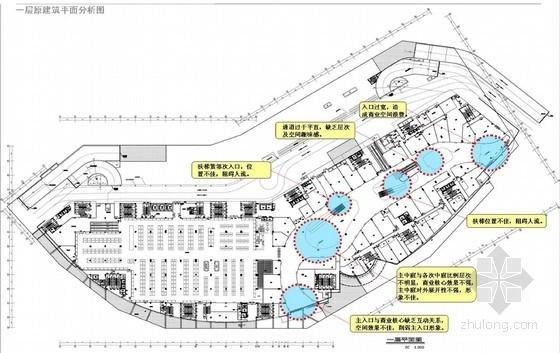 [广东]大型高层商业建筑中心商业区中庭室内装修设计方案(图纸高清完整 推荐!)