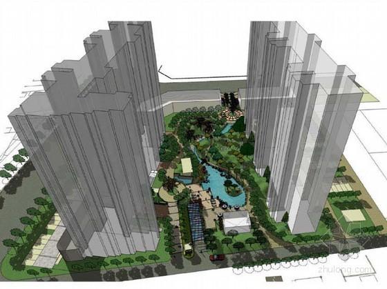 [石家庄]居住小区景观设计方案