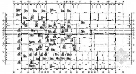 [西安]30层剪力墙结构桩筏基础住宅结构施工图