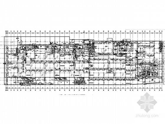 [上海]高层商业办公综合项目空调通风及防排烟系统设计施工图(机房设计)
