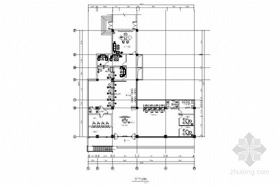 [山西]国有控股金融机构现代营业厅装修施工图(含电气)
