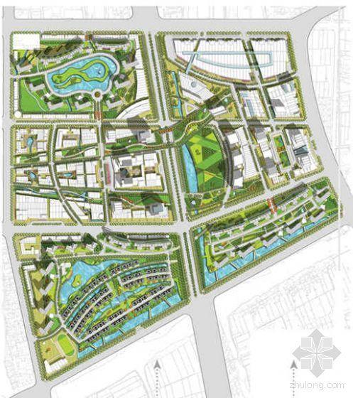 江苏常熟大厦办公楼环境景观及建筑设计方案