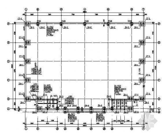 某金属拱型波纹屋盖施工图纸