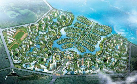 滨湖小区景观规划设计方案