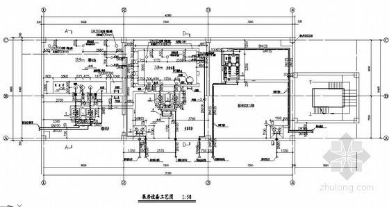 小区消防及生活泵房施工图