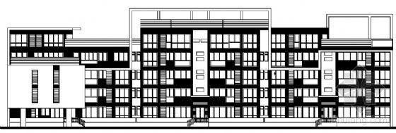 东部花园洋房9栋住宅楼建筑施工图