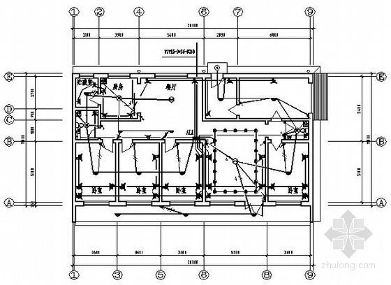 某平房标准间电气图纸