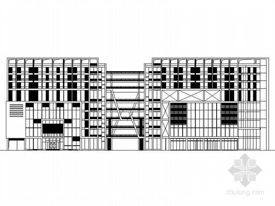 [深圳]某五层大型商场建筑设计方案图(含效果图)