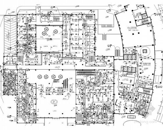 vrv多联机空调系统设计资料下载-[江西]小型高层医院建筑空调系统设计施工图(VRV系统 冬季集中供热)