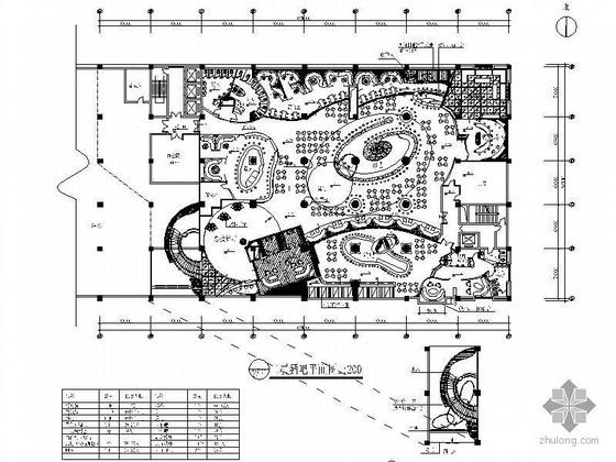 中央大厦餐饮娱乐区施工图