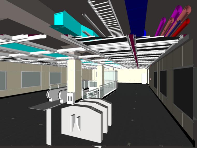 广州地铁地下两层岛式车站BIM技术应用
