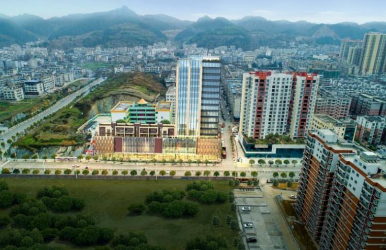 [贵州]现代风格高层综合办公楼建筑设计方案文本(JPG)