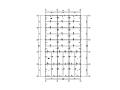 单层框架结构食堂结构施工图