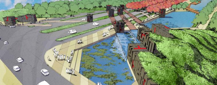 [江苏]科技工业园市政道路景观设计方案