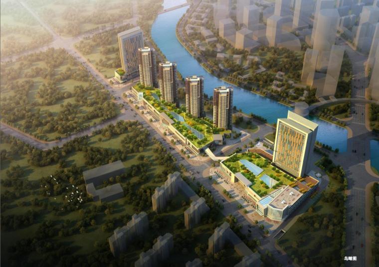 [贵阳]新中式风格现代构图技巧商业综合体建筑设计方案文本
