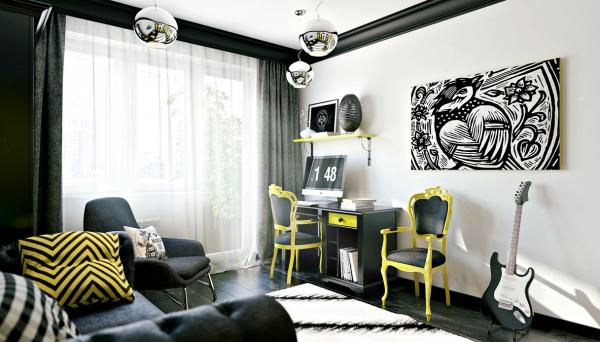家点软装:时尚的青少年卧室