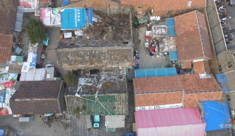 济南648岁文物建筑沦为出租房,屋顶部分坍塌