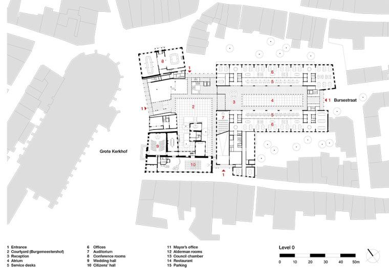 全新代芬特尔市综合体建筑平面图 (17)