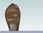 园林景观小品塔su模型设计