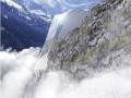 夹缝中生存,4000多米高的阿尔卑斯悬崖缝隙建酒店!
