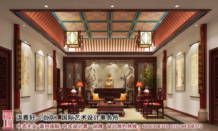 古典神韵的江西四合院中式装修效果图案例_2