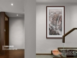 什么画适合挂在楼梯旁的墙上,你看这幅山水画如何