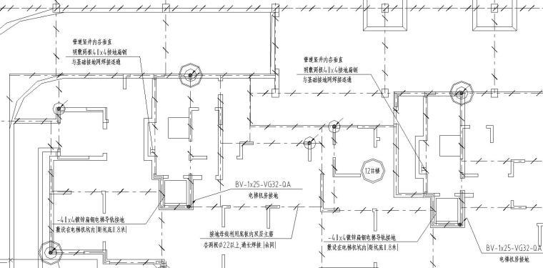 某小区高层地下室电气施工图_2